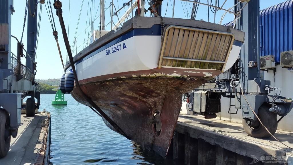 购买Ithaca后船首次出水照片及成果 首次出水当天