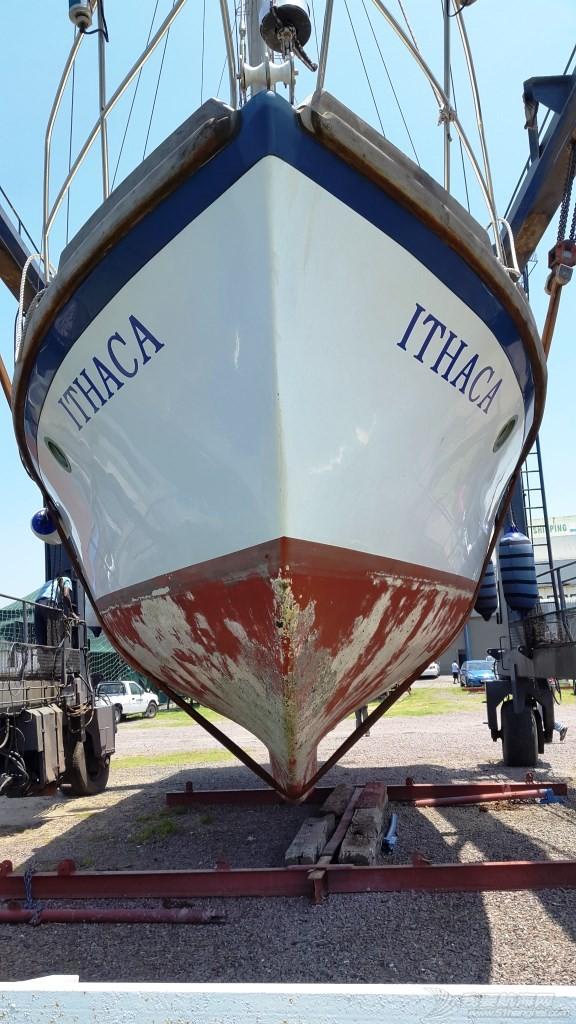 购买Ithaca后船首次出水照片及成果 准备着地
