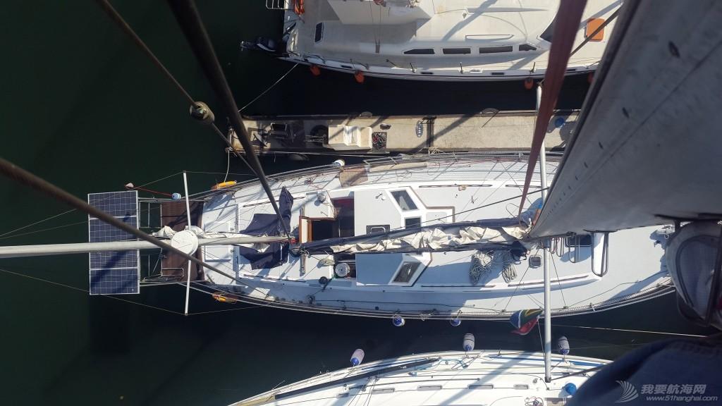 暴风雨,如意,老公,帆船,记录 南非Vasco de Gama帆船赛 - 训练(1) 船全景俯瞰图1