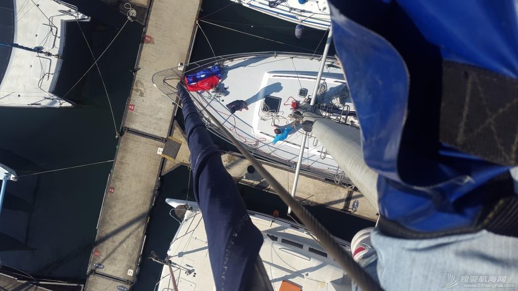 暴风雨,如意,老公,帆船,记录 南非Vasco de Gama帆船赛 - 训练(1) 前甲板