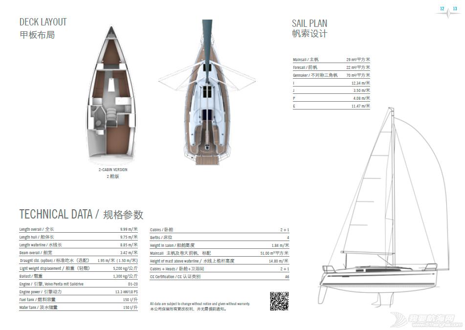 帆船 主流帆船价目设备表——bavaria全系列含简介、视频展示 QQ截图20150818211719.png