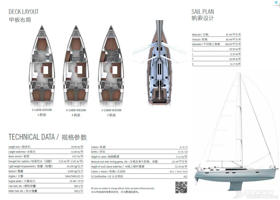 帆船 主流帆船价目设备表——bavaria全系列含简介、视频展示 QQ截图20150818213635.png