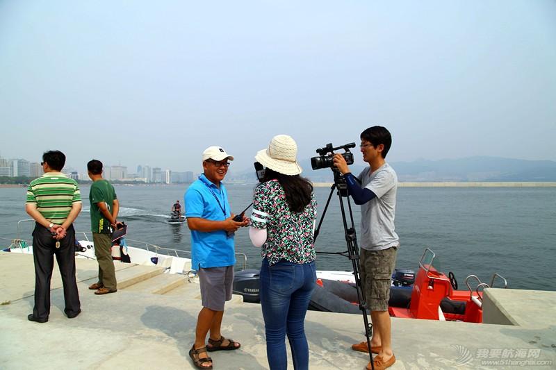 """大海,国际,气象,威海 """"刘公岛杯""""2015威海国际帆船赛:星辰大海你去看,气象保障我来干 IMG_2572_副本.jpg"""