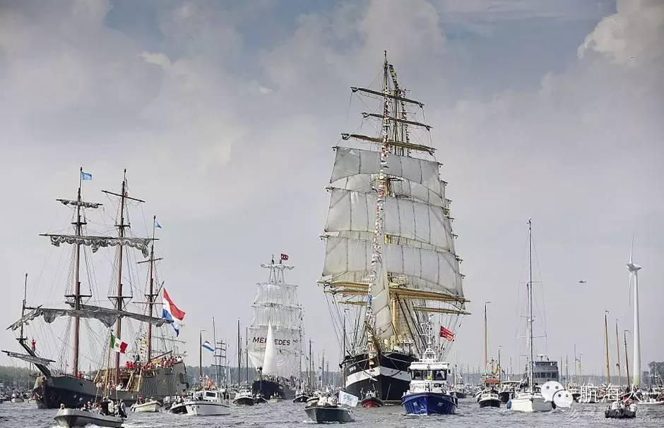"""阿姆斯特丹,荷兰人,主办方,最大的,北海 航海盛会:5年一次的""""阿姆斯特丹帆船节""""(图文视频) 93e7386ed925ace0a775610fd62e2c88.jpg"""