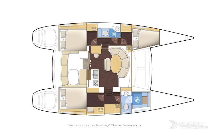帆船 lagoon 380 蓝高380双体帆船 380-3.jpg