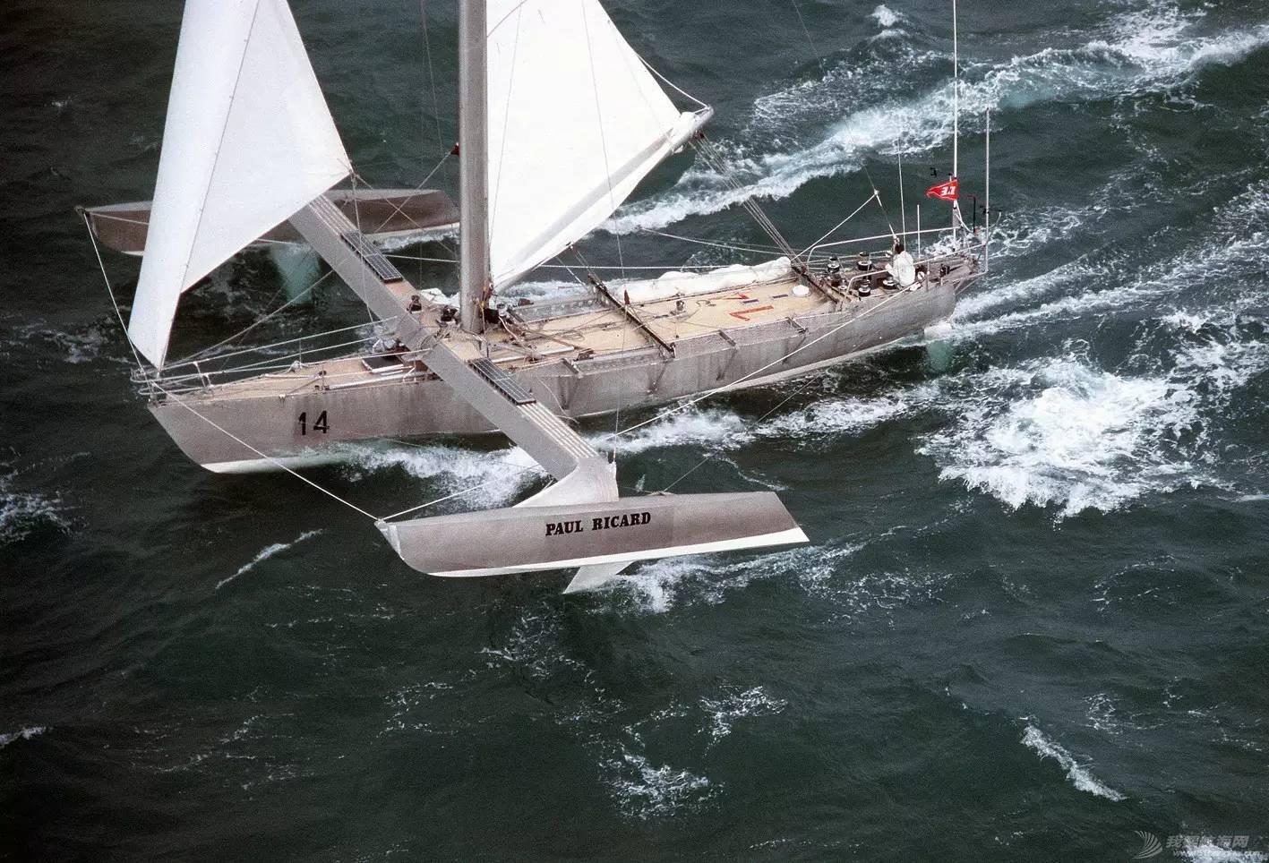 """帆船运动,美洲杯,旧金山,全世界,系列赛 帆船也能""""飞""""?---最具代表性的12艘水翼帆船 4a585260e61e68aa1bf271beda4faf0e.jpg"""