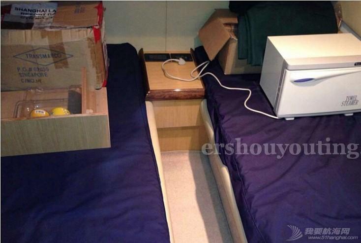 意大利,上海,二手,证书 二手游艇法拉帝46出售在上海 卧室之一