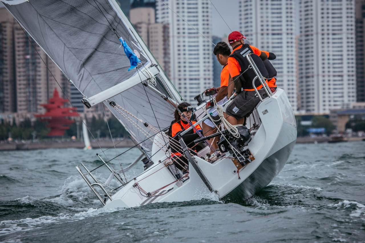 青年旅舍,解放军,2K对抗赛 第一次独自外出参加2015青岛龙骨船双船对抗赛-2K帆船赛夏季赛 IMG_6938.jpg