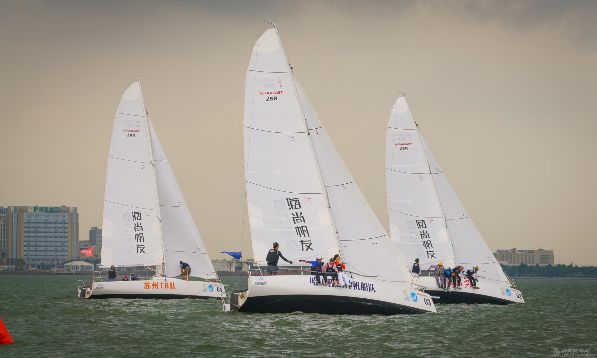 中国城市,俱乐部,帆船 帆船大奖掀高潮 2015中国城市俱乐部帆船赛完美落幕 赛事图
