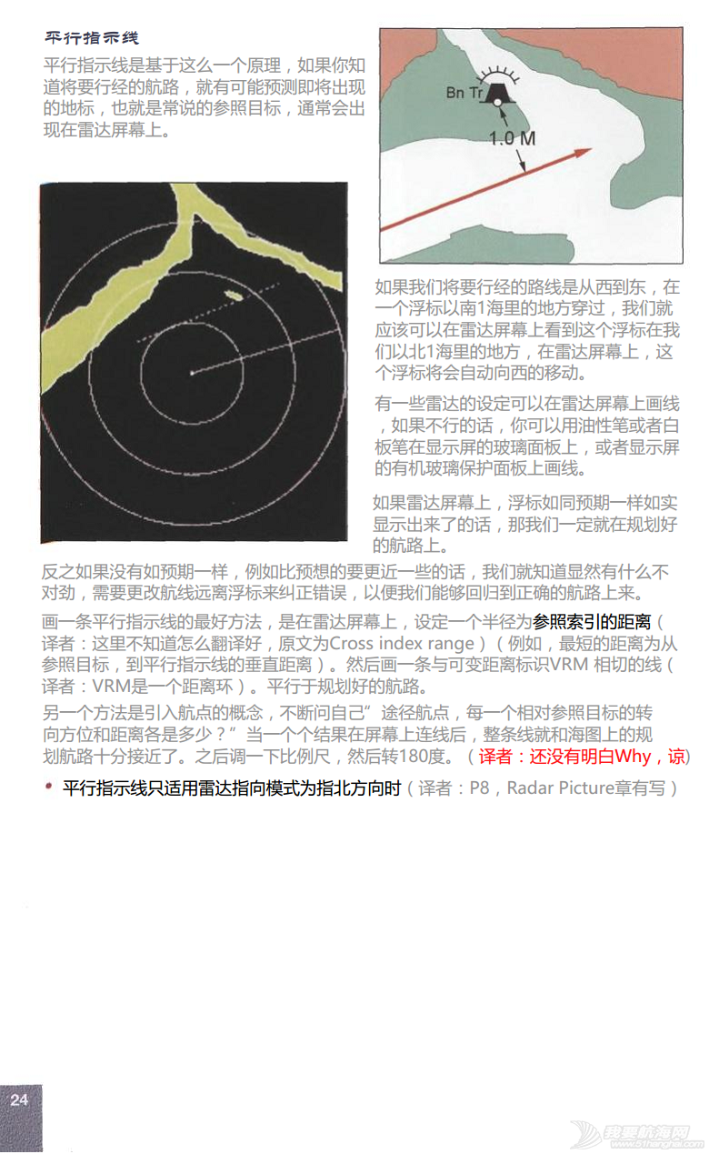 小伙伴,英文版,著作权,中文,帆船 ©RYA《雷达使用简介》An introduction to Radar.完稿 26