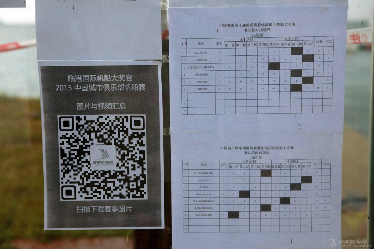 上海,帆船,国际 与奖杯擦肩而过-记2015上海临港国际帆船赛 二维码