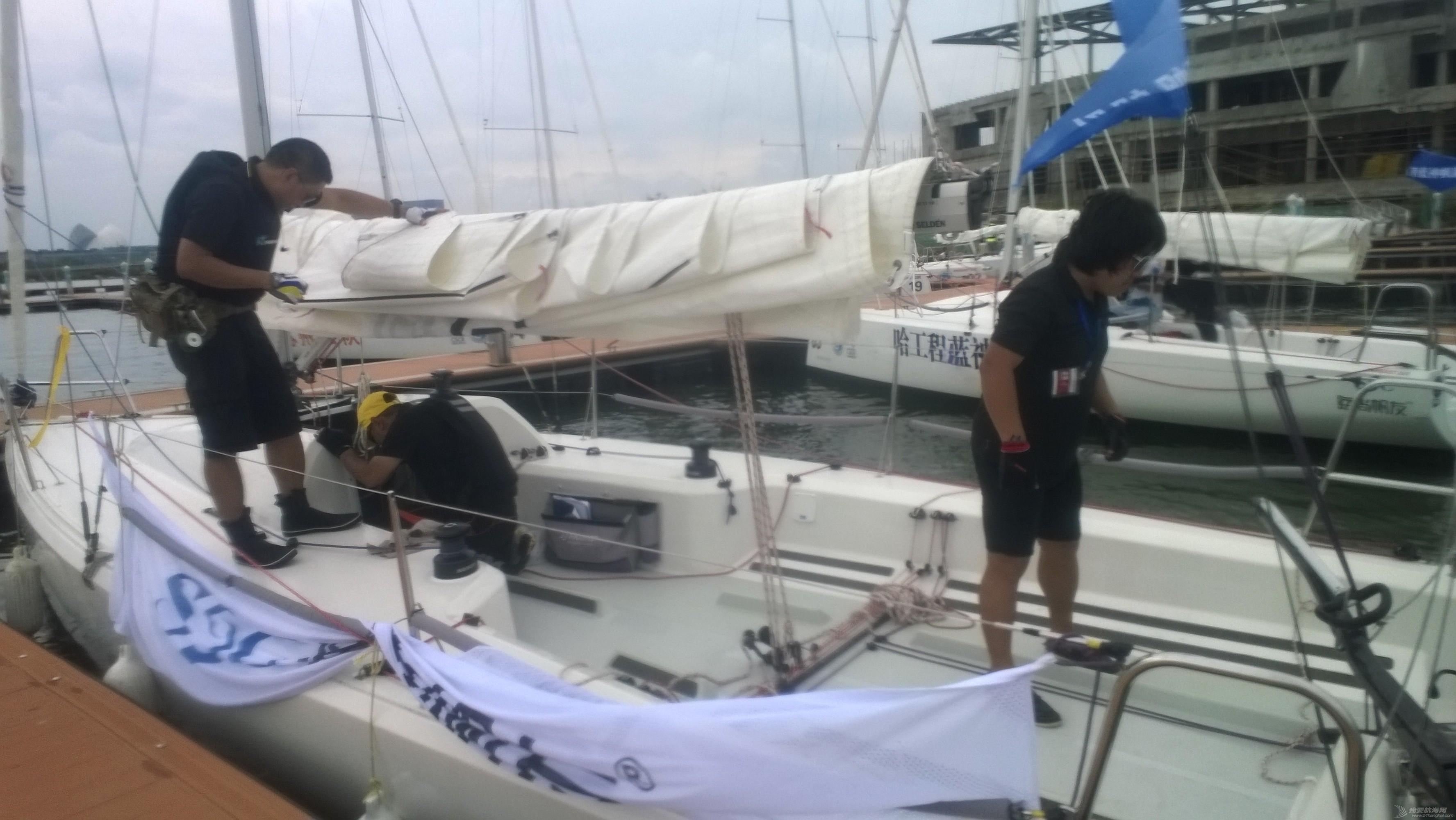 俱乐部,哈工大,吉祥物,代表队,所在地 菜鸟首次比帆赛-记上海临港国际帆船比赛 WP_20150925_038.jpg