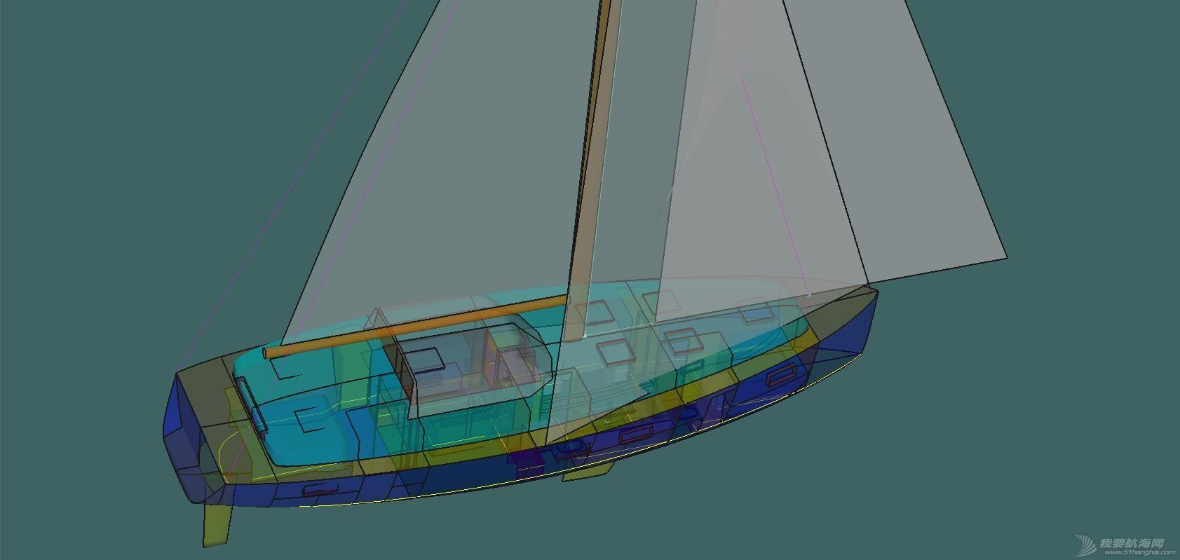 承接国内帆船设计业务【补充内容】 3D模型1.jpg