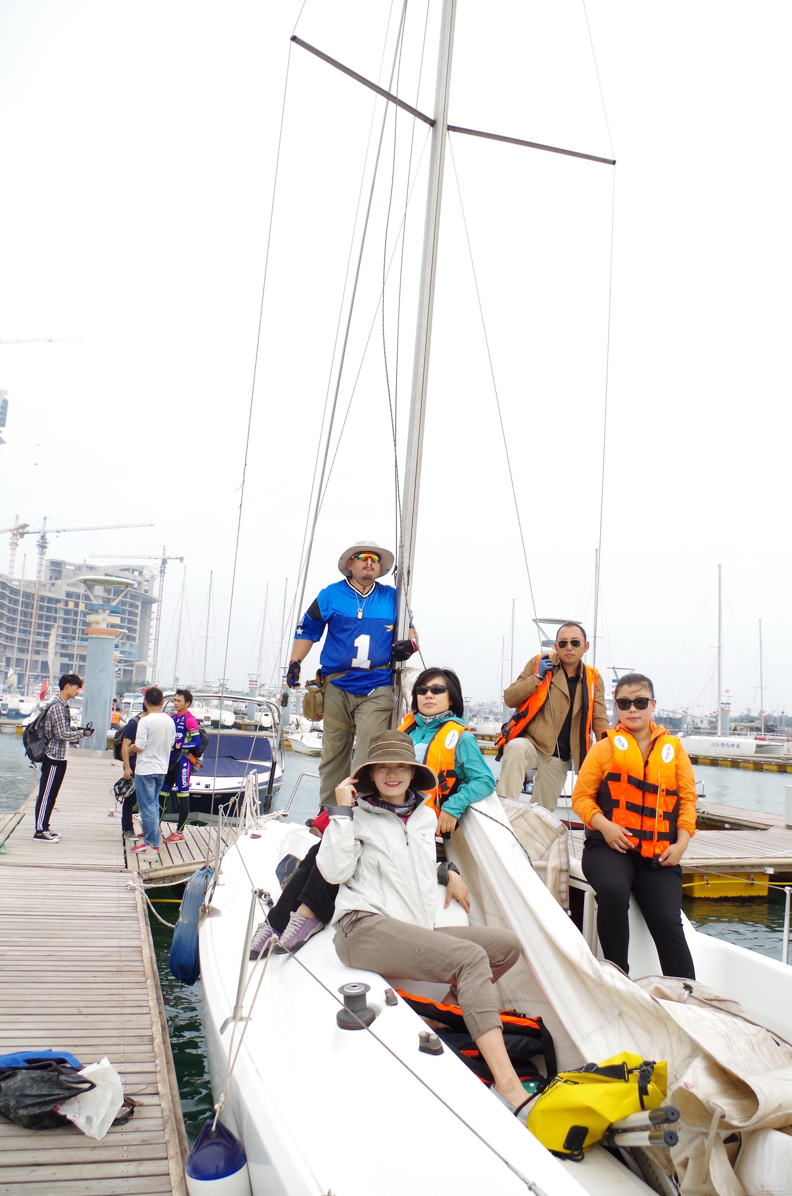 记第一次帆船出海——日照公益培训第一期 IMGP2483