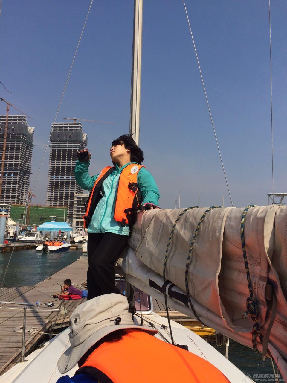 记第一次帆船出海——日照公益培训第一期