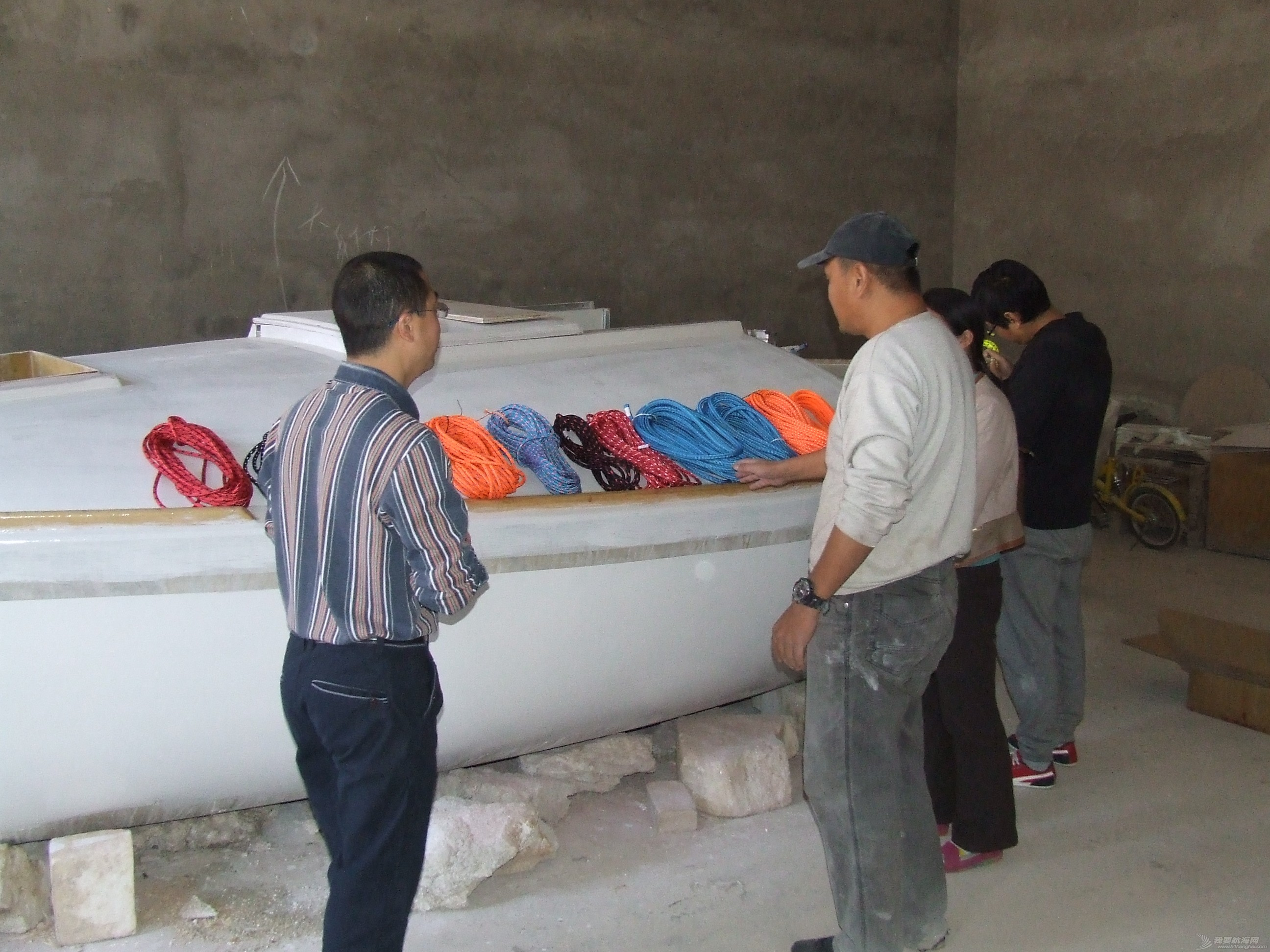 北京,帆船 GR-750帆船获得睿泽皓宇绳缆赞助 DSCF7055.JPG