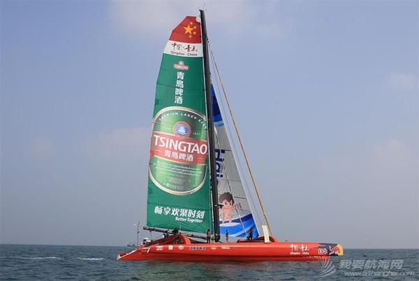 """帆船,青岛号 郭川、宋坤船队将驾驶""""中国•青岛""""号开启21世纪海上丝绸之路之旅 448a5bd66ddb178fe9df08.jpg"""