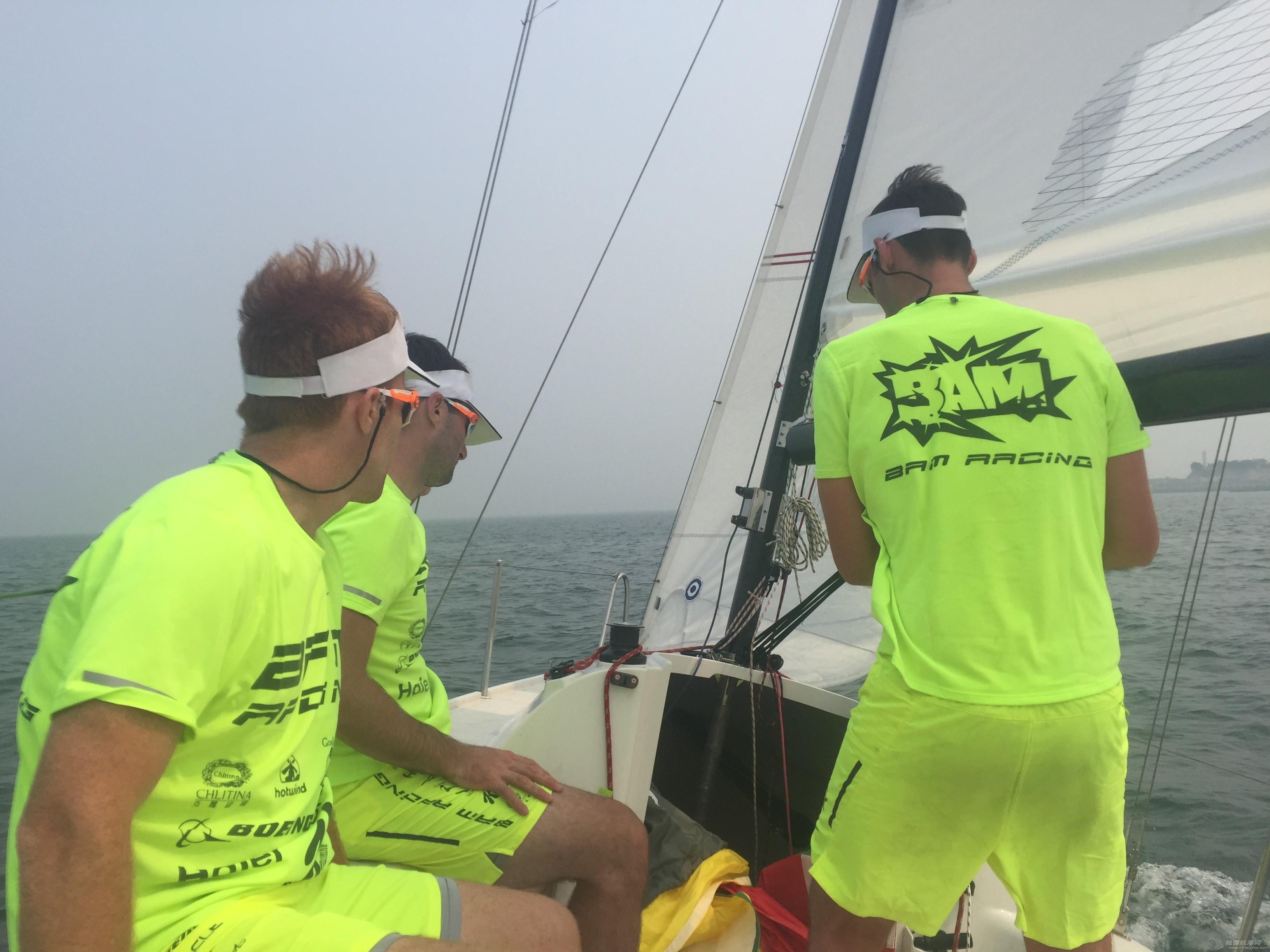 美国,朋友,帆船,国际,威海 帆船初体验——记参加威海杯国际帆船赛 首次练习