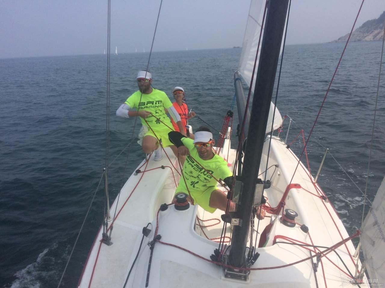 美国,朋友,帆船,国际,威海 帆船初体验——记参加威海杯国际帆船赛 乘风破浪