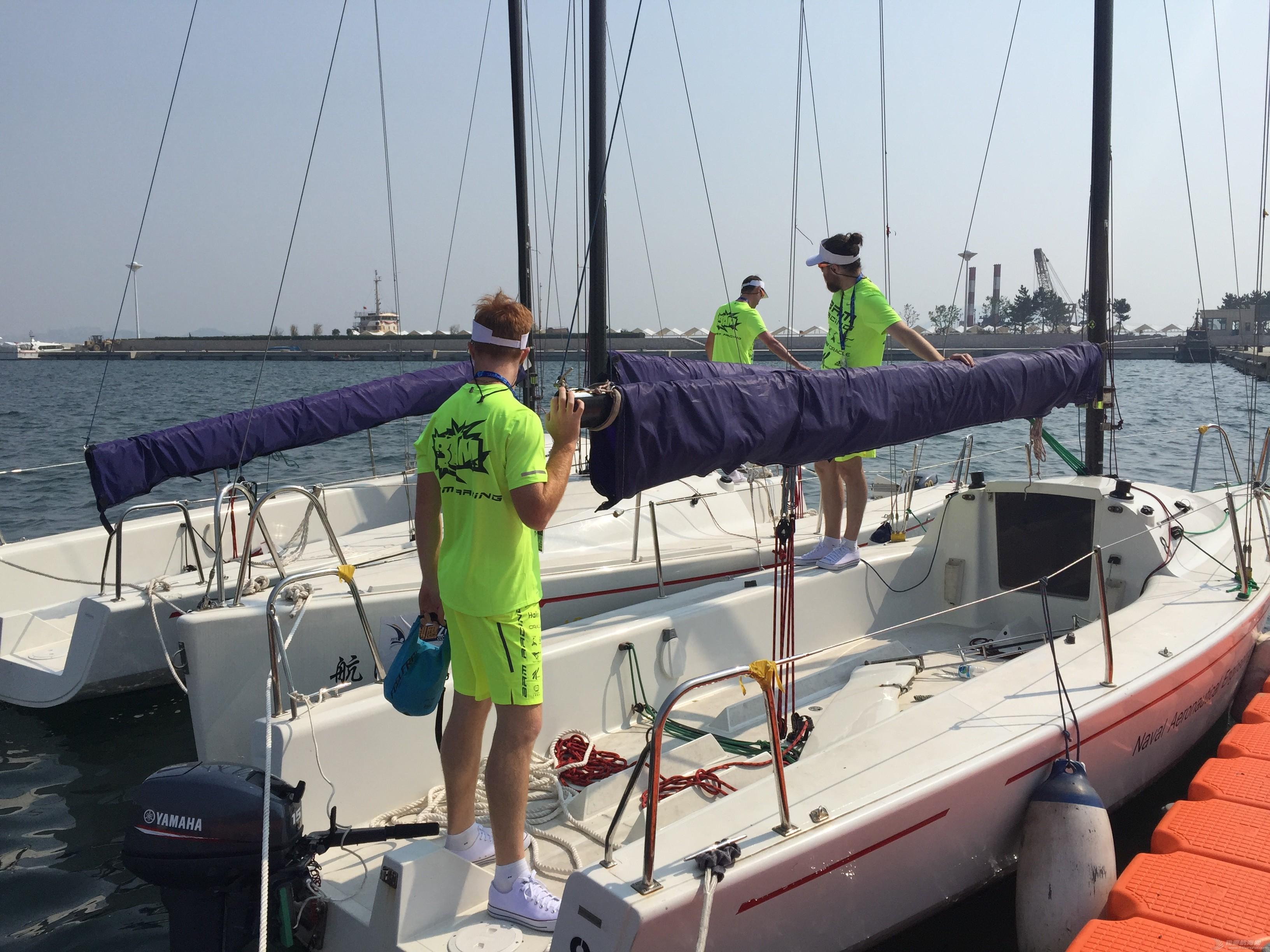 美国,朋友,帆船,国际,威海 帆船初体验——记参加威海杯国际帆船赛 选船