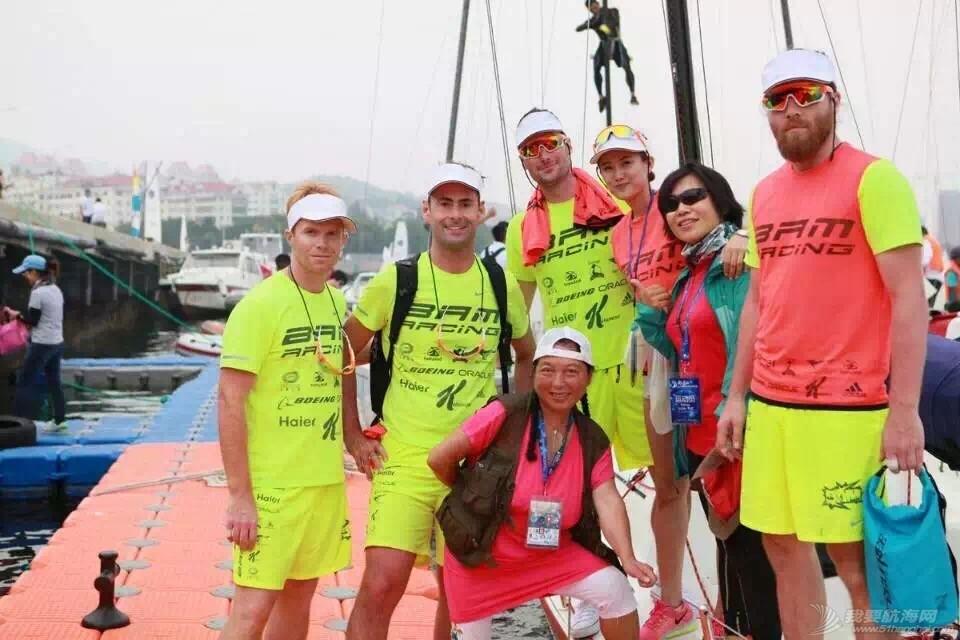 美国,朋友,帆船,国际,威海 帆船初体验——记参加威海杯国际帆船赛 合影