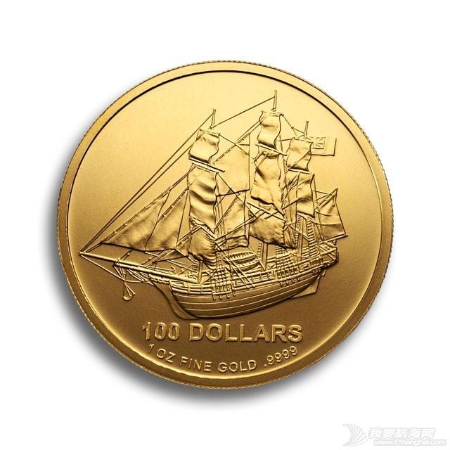 运金币的船长 金币正面 - 慷慨号