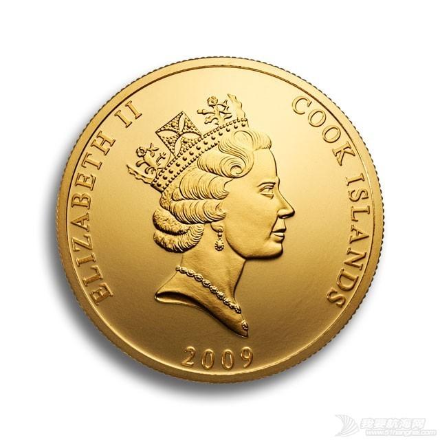 运金币的船长 金币反面 - 女王头像