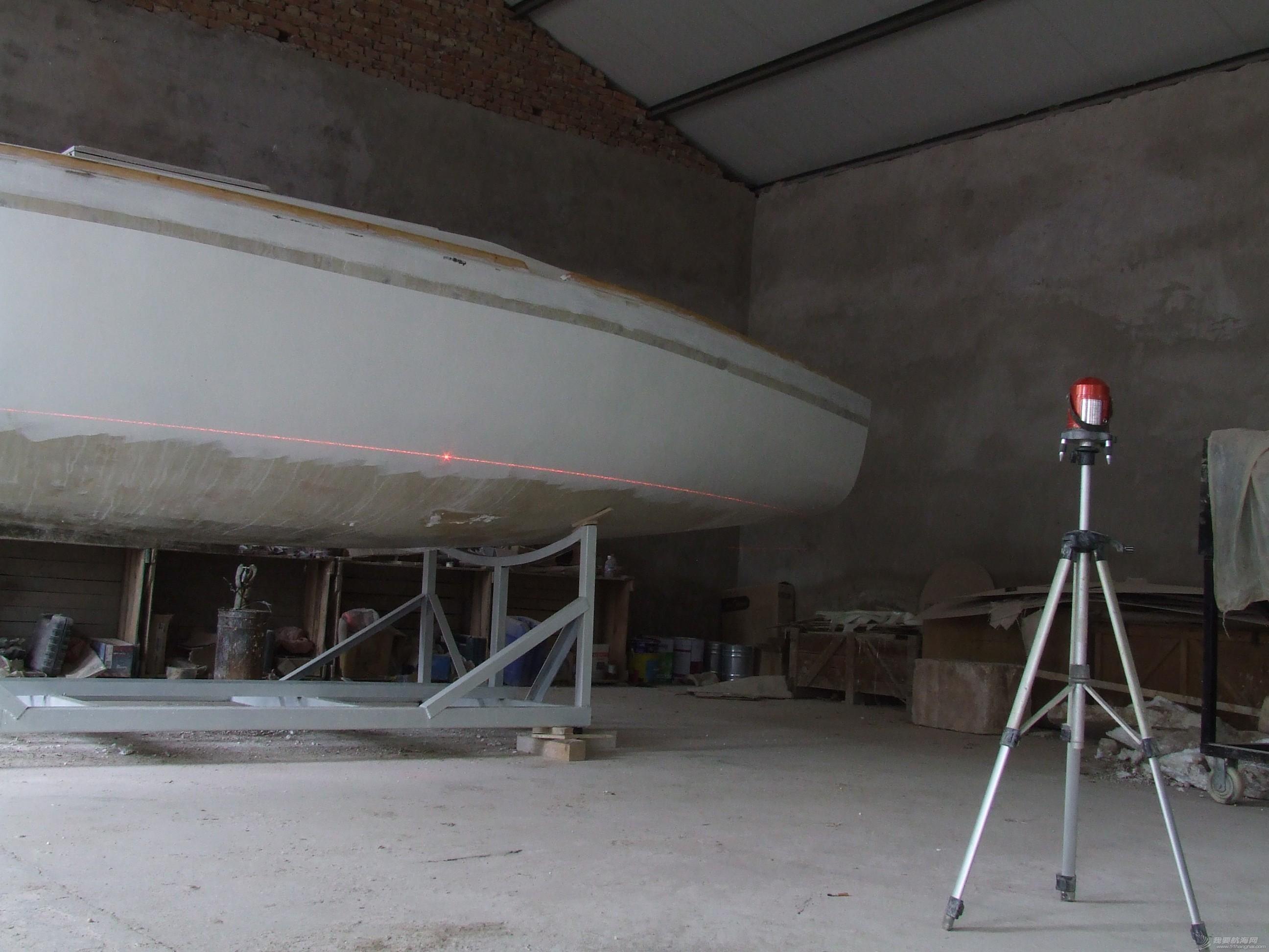 GR-750船壳涂装完成 DSCF7175.JPG