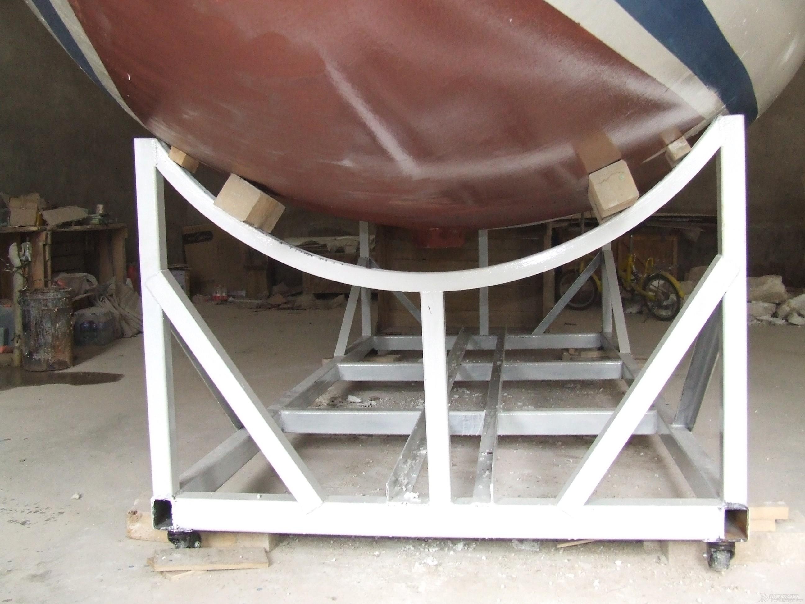 GR-750船壳涂装完成 DSCF7359.JPG