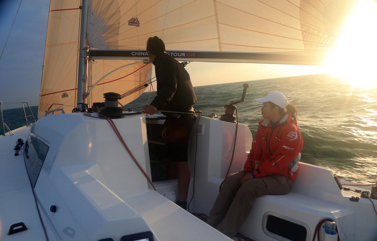 赛事,沃尔沃,骑自行车,中国海,纪录片 驾驶帆船在海山浪谷中穿梭,太美妙了:亚诺环中国海帆船赛系列之真实的远航 9914956363ad6b2b87.png