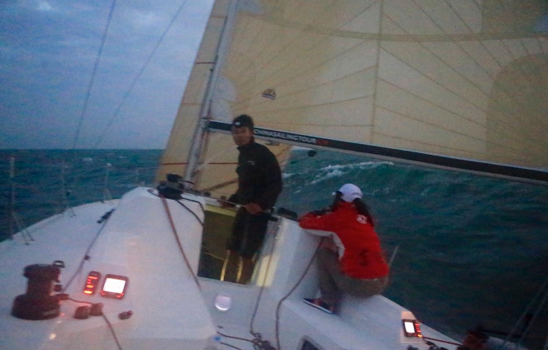赛事,沃尔沃,骑自行车,中国海,纪录片 驾驶帆船在海山浪谷中穿梭,太美妙了:亚诺环中国海帆船赛系列之真实的远航 9132056363cb22fb69.png
