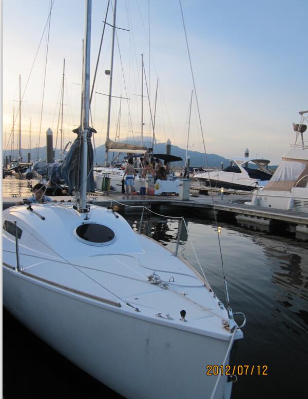 合伙,排水量,铝合金,爱好者,淡水湖 Argo680帆船 深圳