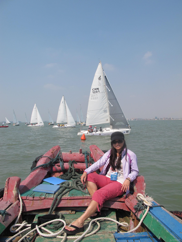 中国,帆船 竞自由帆船队首秀第九届中国杯帆船赛 IMG_5619.JPG