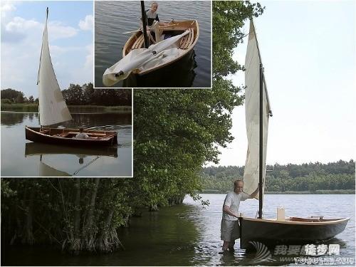 我也造了一艘帆船
