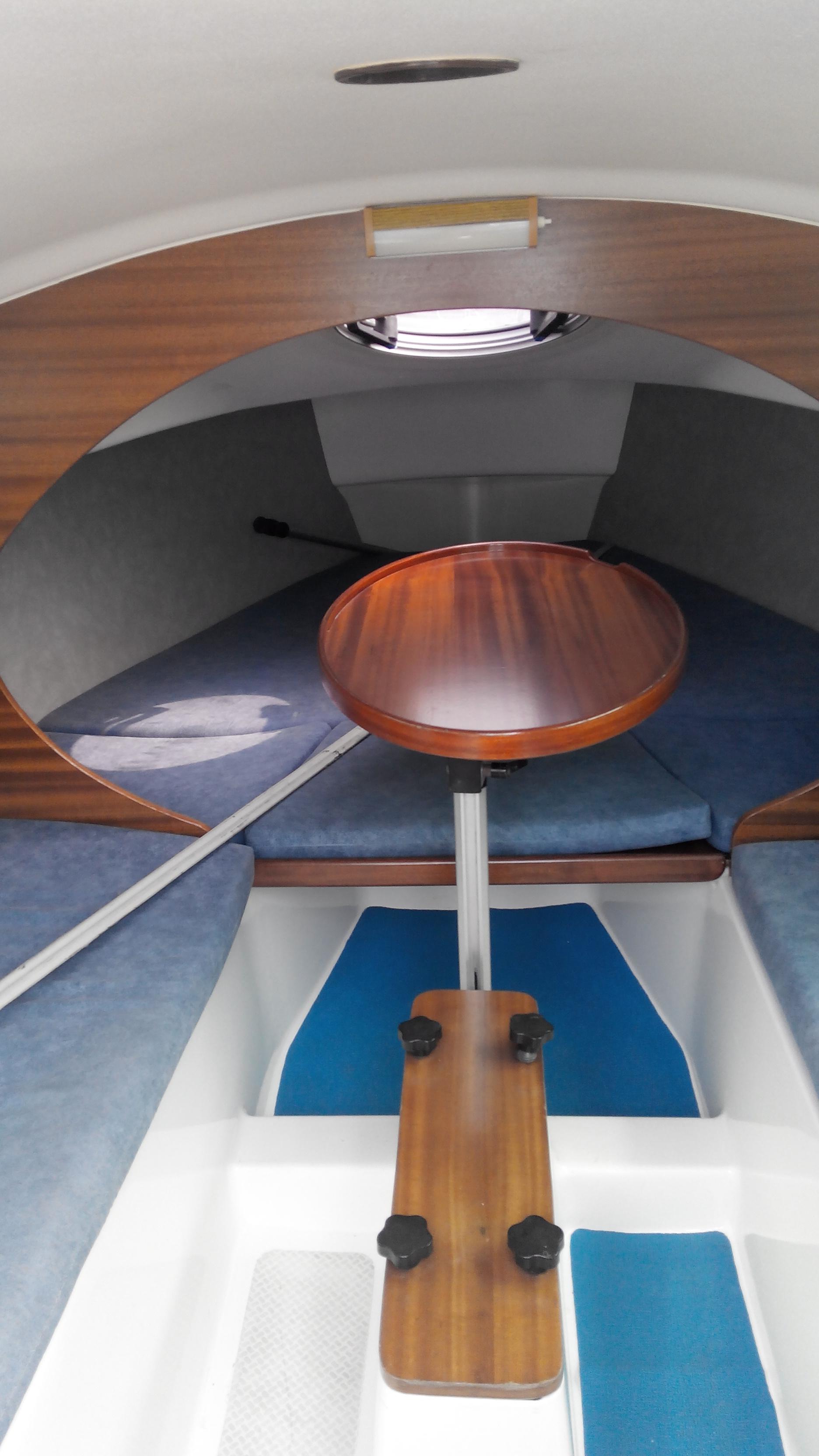 合伙,排水量,铝合金,爱好者,淡水湖 Argo680帆船 舱内1