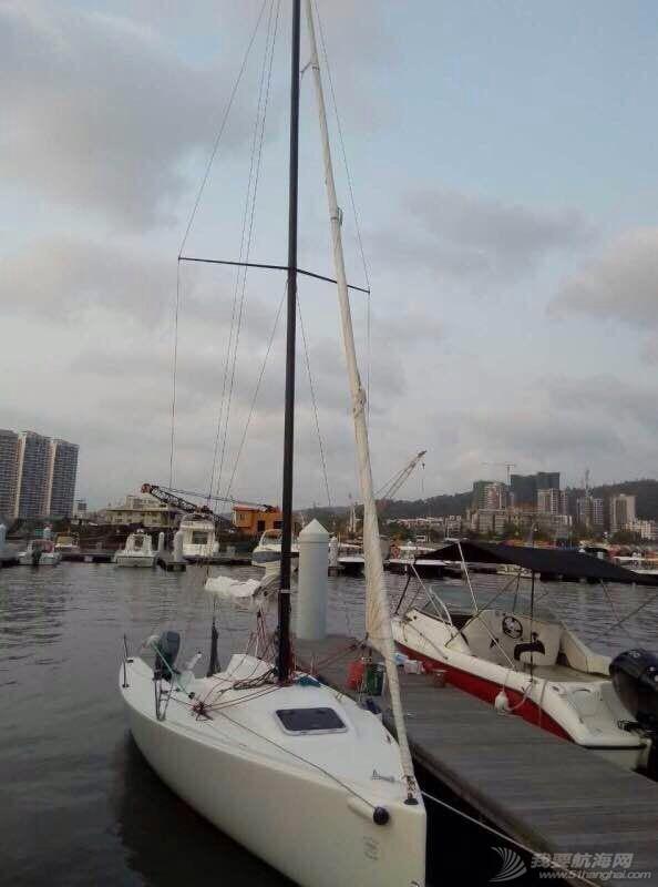 三亚九成新帆船J70出售 210453b1zxo5sd6f6q3otr.jpg