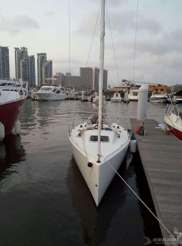三亚九成新帆船J70出售 210453kvik5b8ozlw9gkgb.jpg