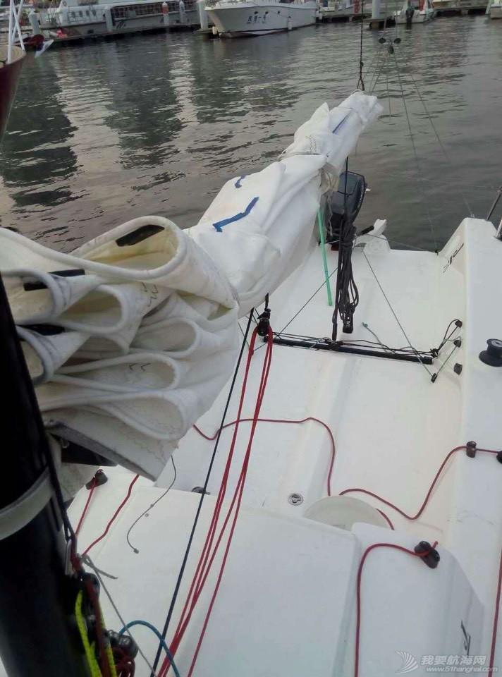 三亚九成新帆船J70出售 210454xady5bdbad8rtdjr.jpg