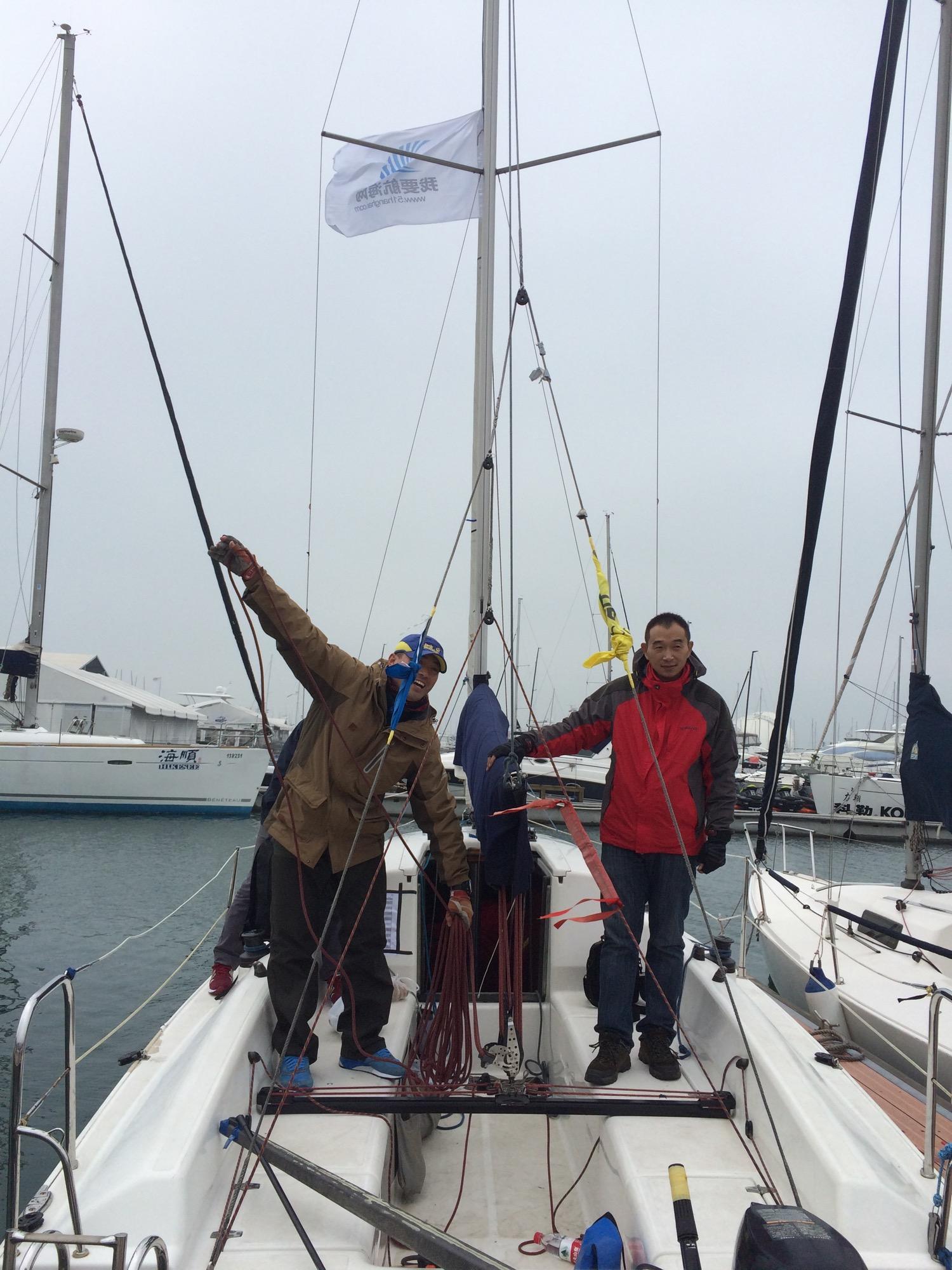 新西兰,北京,青岛,帆船,大海 一个帆船航海老菜鸟深秋细雨中的帆船赛 IMG_8950.jpg