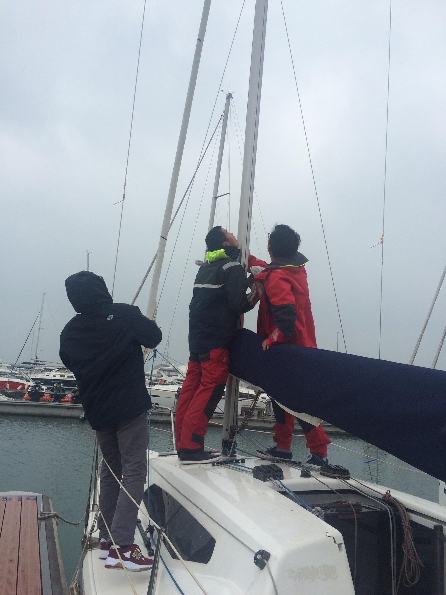 新西兰,北京,青岛,帆船,大海 一个帆船航海老菜鸟深秋细雨中的帆船赛 IMG_9006.jpg