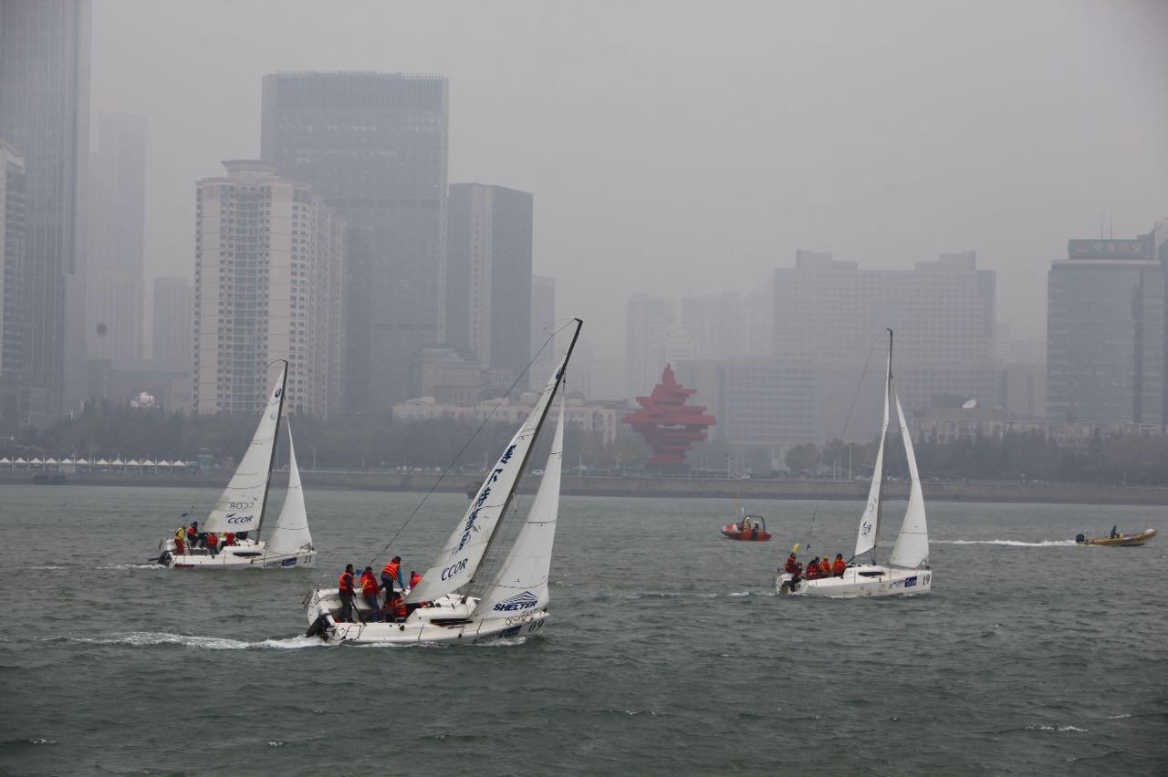 新西兰,北京,青岛,帆船,大海 一个帆船航海老菜鸟深秋细雨中的帆船赛 WeChat_1447330493.jpg