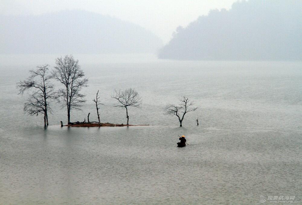 中国 《冬至梅山渡口》 江湖