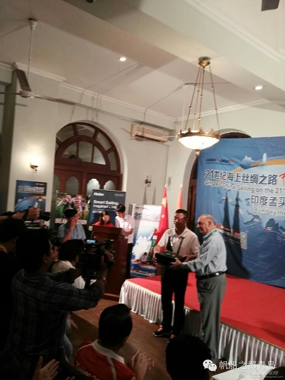 """21世纪海上丝绸之路龙象携手合作启新篇:你好,印度!丨""""中国·青岛""""号停靠印度孟买 f93f050c11660a385c9610a535cff27b.jpg"""