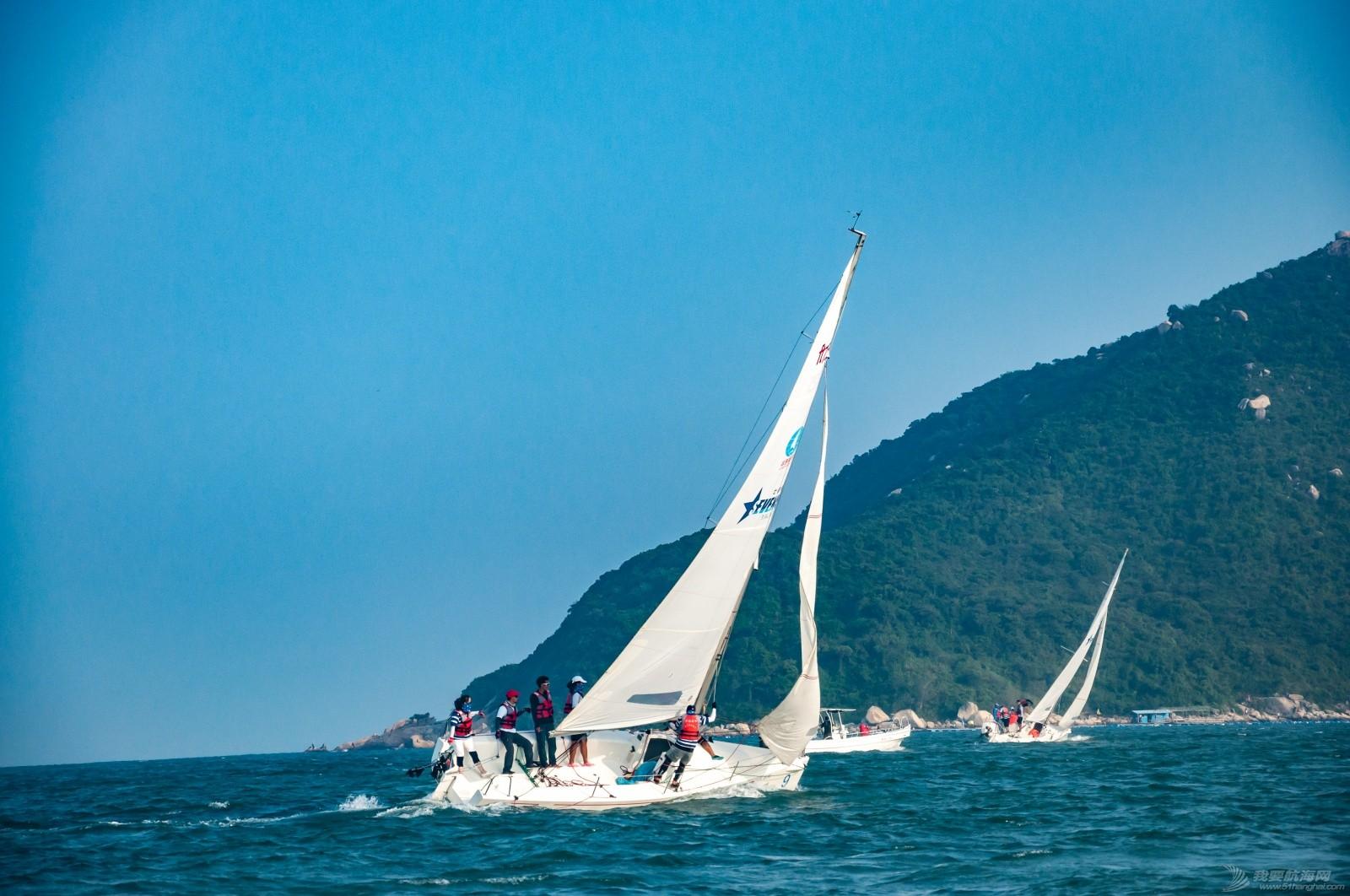 【2015大鹏杯帆船赛】51航海网船队在比赛中 s017.jpg