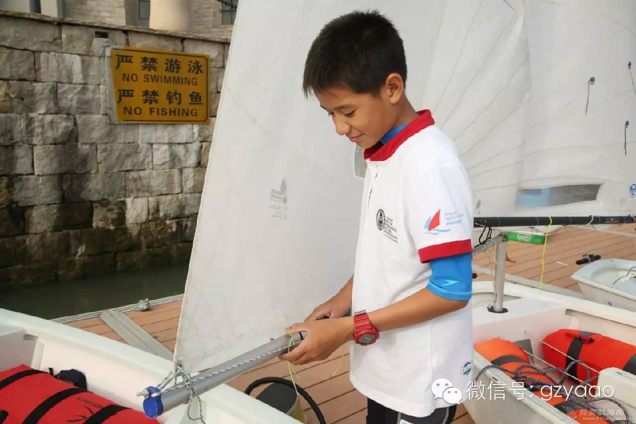 全国青少年帆船联赛(广州站)圆满结束,16支小队伍各展雄风(多图) 5f180a0e3524dea686d5418db9078e40.jpg