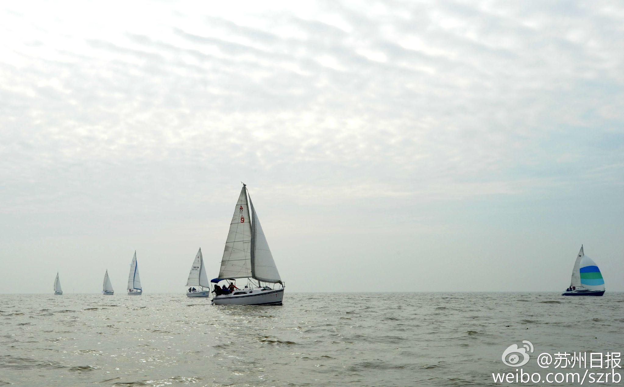 浙江湖州,江苏省,有限公司,帆船运动,卡特琳娜 太湖水域首个帆船比赛环太湖帆船拉力赛扬帆 2.jpg