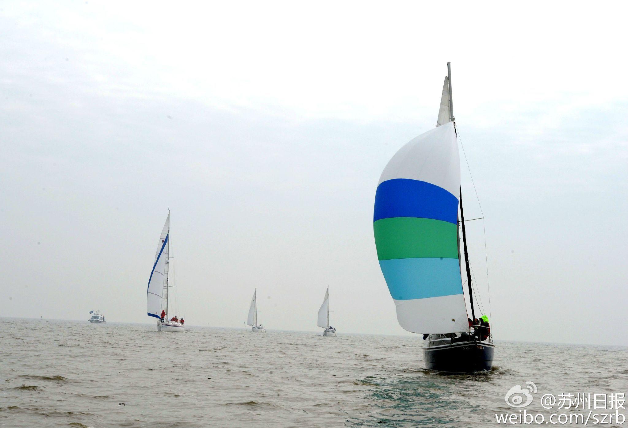 浙江湖州,江苏省,有限公司,帆船运动,卡特琳娜 太湖水域首个帆船比赛环太湖帆船拉力赛扬帆 3.jpg