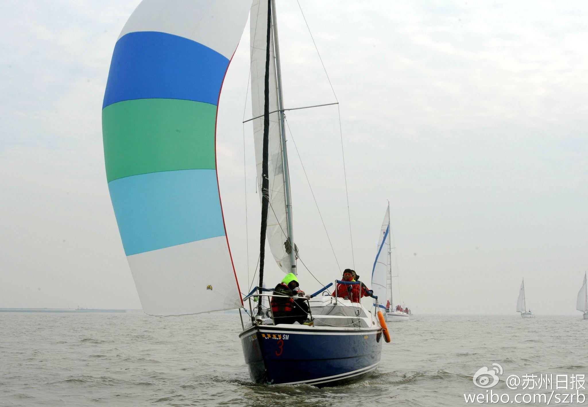 浙江湖州,江苏省,有限公司,帆船运动,卡特琳娜 太湖水域首个帆船比赛环太湖帆船拉力赛扬帆 4.jpg