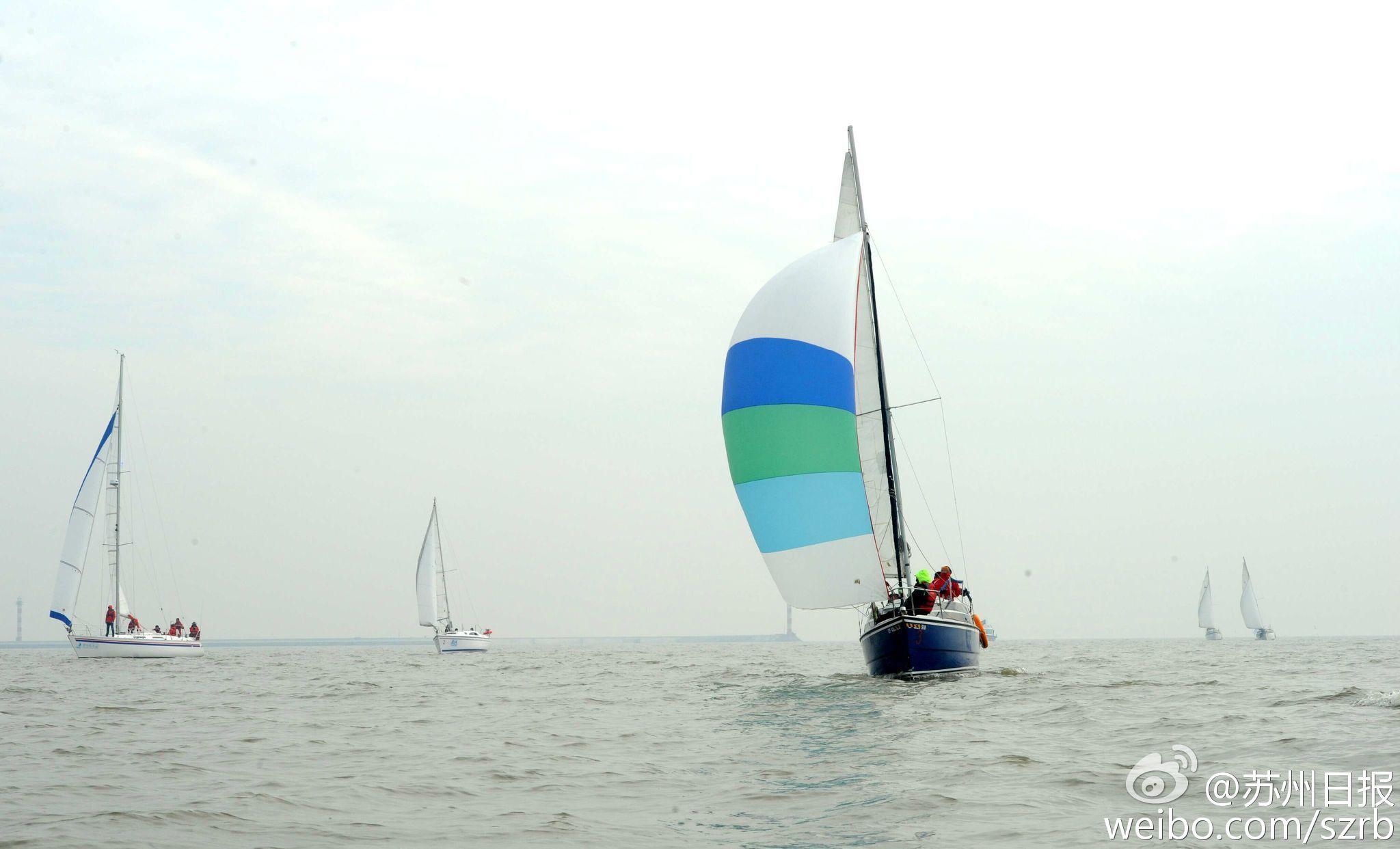 浙江湖州,江苏省,有限公司,帆船运动,卡特琳娜 太湖水域首个帆船比赛环太湖帆船拉力赛扬帆 6.jpg