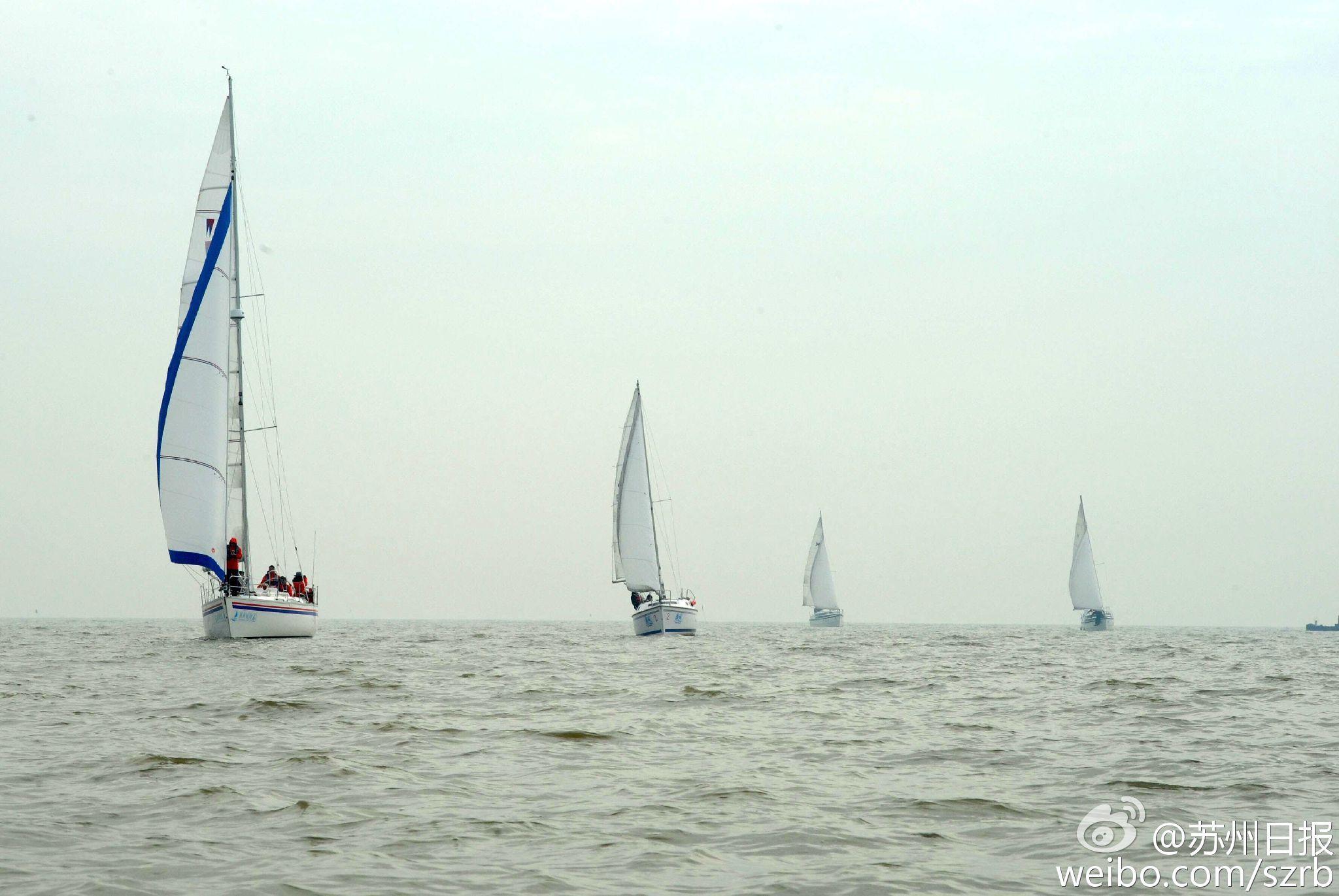 浙江湖州,江苏省,有限公司,帆船运动,卡特琳娜 太湖水域首个帆船比赛环太湖帆船拉力赛扬帆 9.jpg